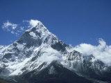 Ama Dablam Mountain  Khumbu Region  Nepal