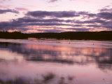 Lake at Dusk  Sweden