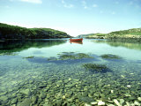 Sheltered Inlet with Pebble Shore  County Cork  Ireland