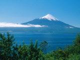 Osorno Volcano and All Saints Lake  Chile