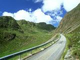 Mountain Road  Western Ross-Shire  Scotland