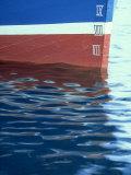Detail of Fishing Boat  Shetland  Scotland