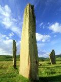 Stone Circle  Arran  Scotland