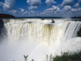 Iguassu Falls  Devils Gorge  South America