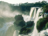 Iguassu Falls  Early Light  South America