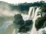 Iguassu Falls  Early Light  South America