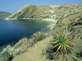 Isla Del Sol in Lake Titicaca  Bolivia