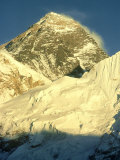Mt Everest at Sunset  Nepal