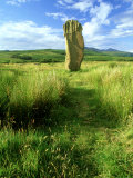 Standing Stone  Arran  Scotland