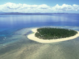 Aerial View  SW Fiji Islands