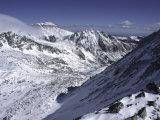 Snowy Landscape Seen from Arapahoe Peak  Colorado