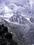 Pumori Seen from Ronbuk Glacier  Tibet