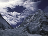 Lhotse Through the Khumbu Ice Fall