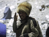 Sherpa at Everest Base Camp  Tibet
