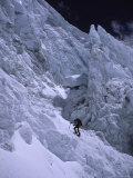 Mounaineering in Nepal on Lhotse