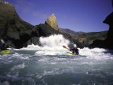 Sea Kayaking by Cliff  USA