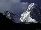 Pumori Landscape  Nepal