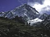 Nuptse Landscape  Nepal