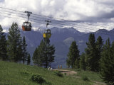 A Small Cablecar in Colorado