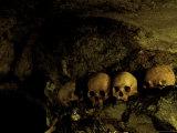 Skulls in Caves  Indonesia