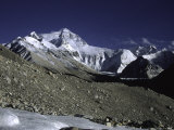 Mt Everest Seen from the North Side  Tibet