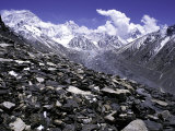 View Over the Ronbuk Glacier  Tibet