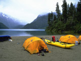 Camp Site by Lake  Chile