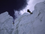 Rapelling Down Khumbu Ice Fall