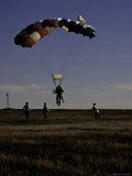 Skydiver Landing  USA
