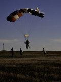 Skydiver Landing  USA
