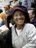 Old Woman  Tibet