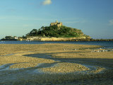 View South from Marazion Beach to St Michaels Mount  Cornwall