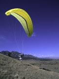 Paraglider Running  USA