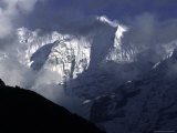 Mountains of Kusum Kanguru  Nepal