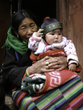 Woman with Child  Tibet