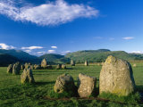 Castlerigg Stone Circle  the Lake District  UK