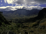 Cloudy Look at the Valley Floor  Madagascar
