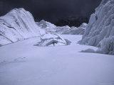 Glacier on Everest's Southside