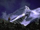 Ski Mountaineering Shishapangma  Tibet