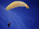 Computer Altered Image of a Parachutist
