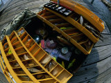 High Angle View of a Fishing Tackle Box