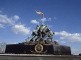 US Marine Corps War Memorial Arlington National Cemetery Arlington Virginia  USA