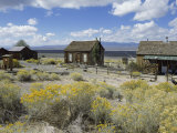 Berlin Ghost Town  Berlin-Ichthyosaur State Park  Nevada  USA