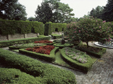 Elizabethan Garden  North Carolina  USA