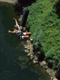 Bungee Jumping  Feather River  California  USA