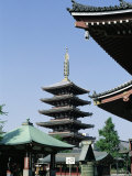 Asakusa Kannon Temple  Tokyo  Japan