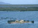 Uros Indian Floating Village  Lake Titicaca