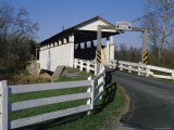Snooks Covered Bridge  Bedford County  Pennsylvania  USA