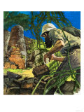 Archaeologist in the Jungle