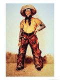 Texas Cowboy  c1890